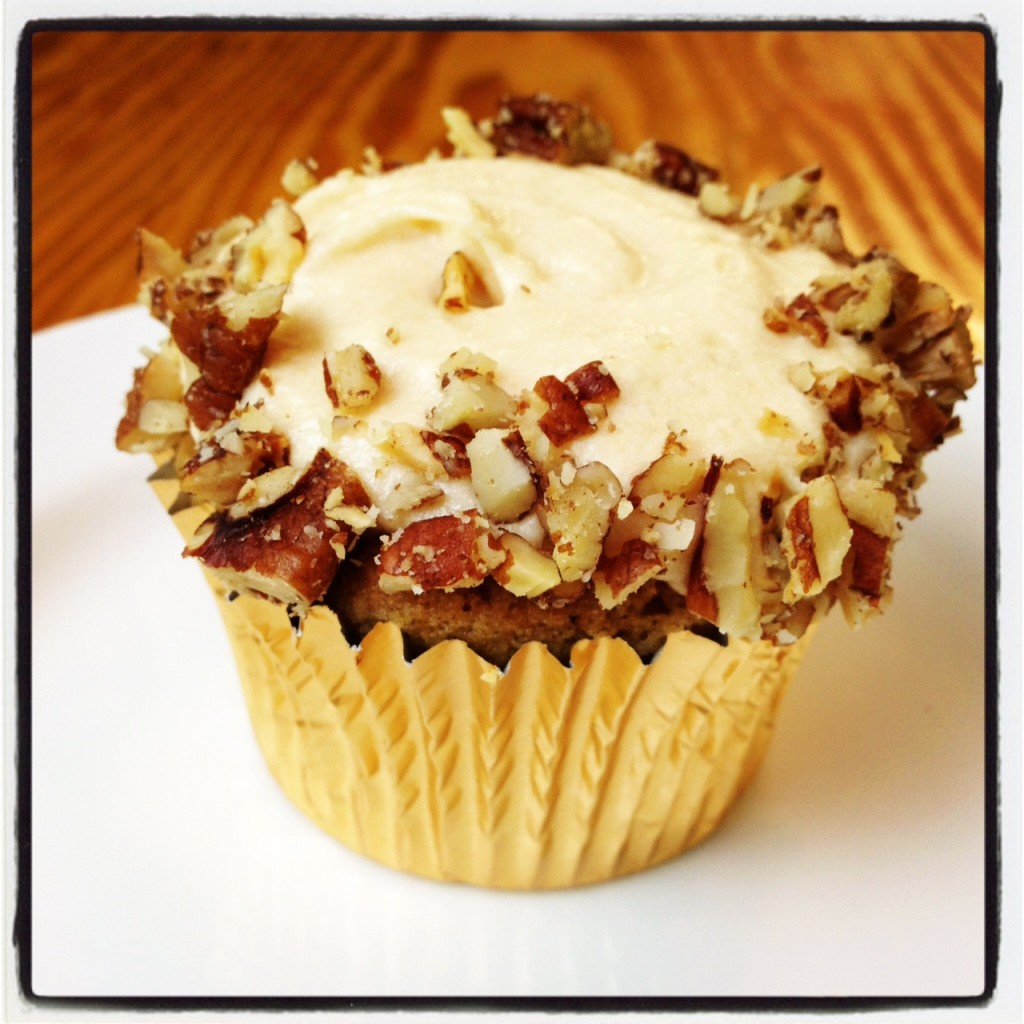 Brown Sugar-Pecan Cupcakes with Caramel Frosting Recipe – The ...