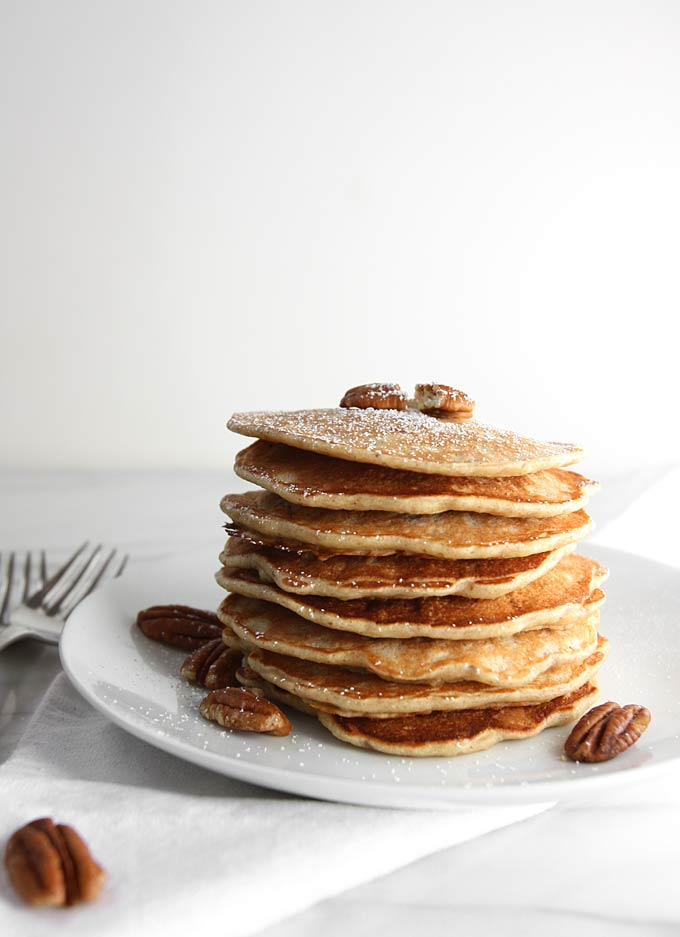 Banana Pecan Pancakes Recipe – The Kitchen Paper