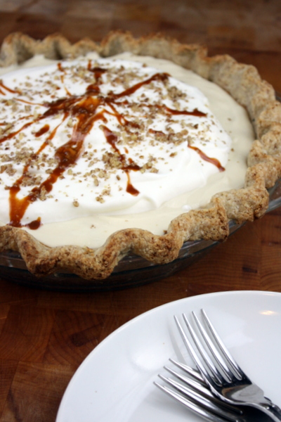 Banana Cream Pie with Salty Bourbon Caramel Recipe – The ...
