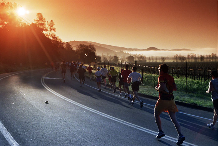 5 Weeks Until the Napa Valley Marathon