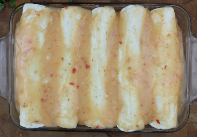 thai enchiladas