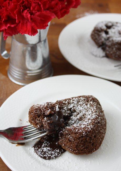 Spiced Molten Chocolate Cakes