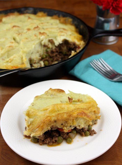 gorgonzola shepherds pie