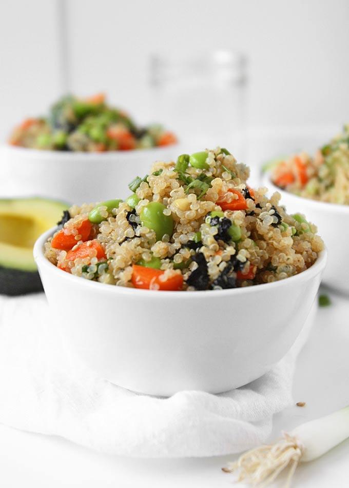 Quinoa Sushi Salad