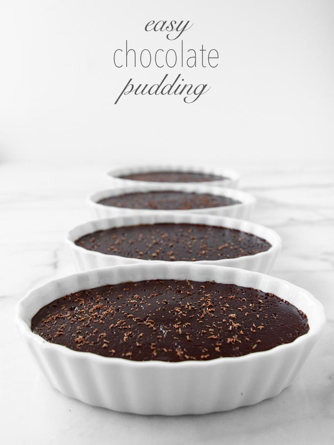 Easy Chocolate Pudding | thekitchenpaper.com