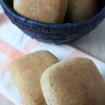 rustic wheat buns