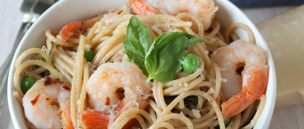 Easy Shrimp Pasta