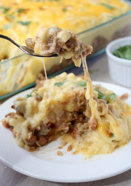 mexican polenta casserole