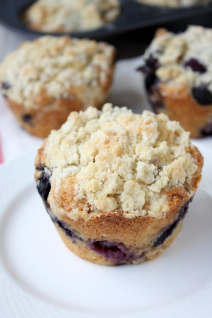 Brown Butter Blueberry Muffins – The Kitchen Paper