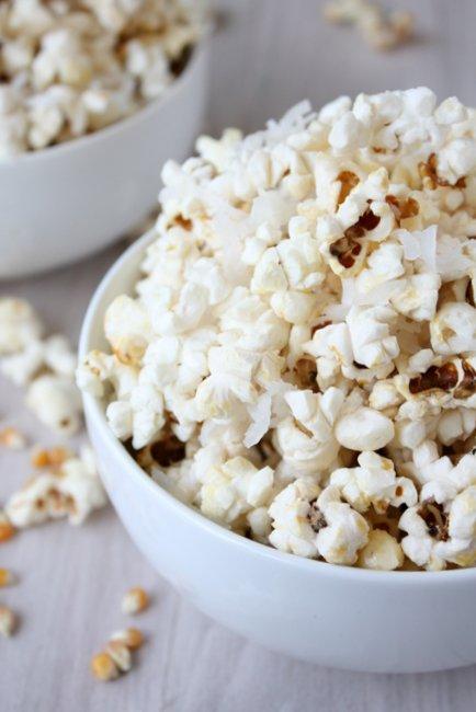 coconut popcorn
