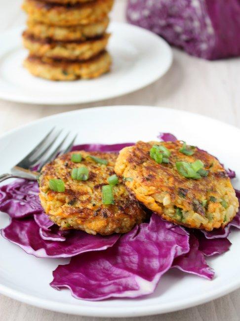 sweet potato quinoa patties | thekitchenpaper.com