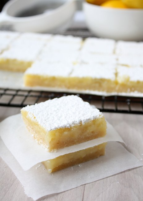 tangy lemon bars