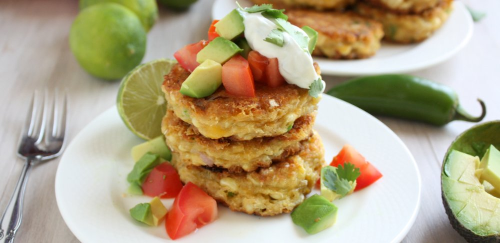 Jalapeño Corn Cakes