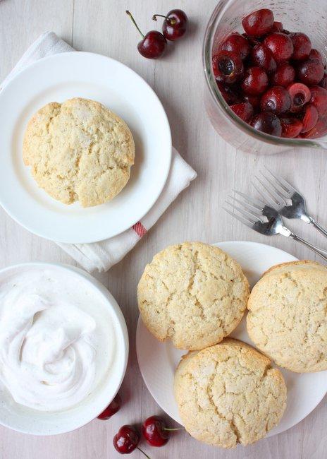 cherry shortcake