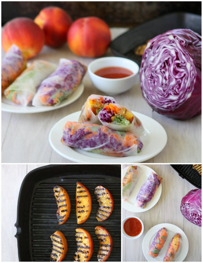 ... Spring Rolls with Spicy Cilantro Pesto Recipe – The Kitchen Paper