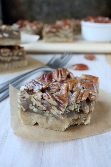 pecan shortbread bars