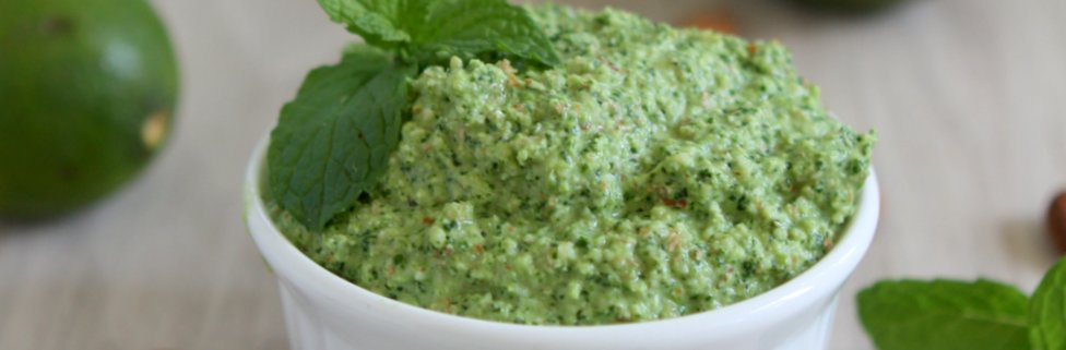 Spicy Cilantro Almond Pesto