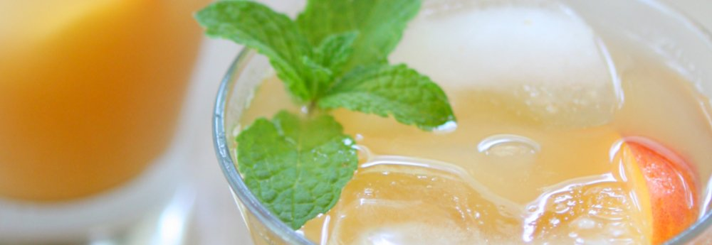 Iced Nectarine Green Tea