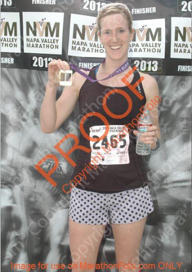 marathon finish photo
