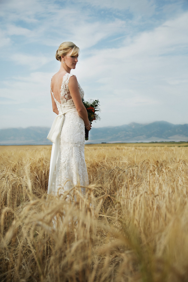 Derek + Mary, Montana Wedding