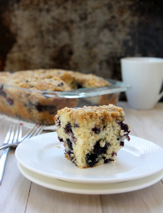 blueberry muffin coffee cake