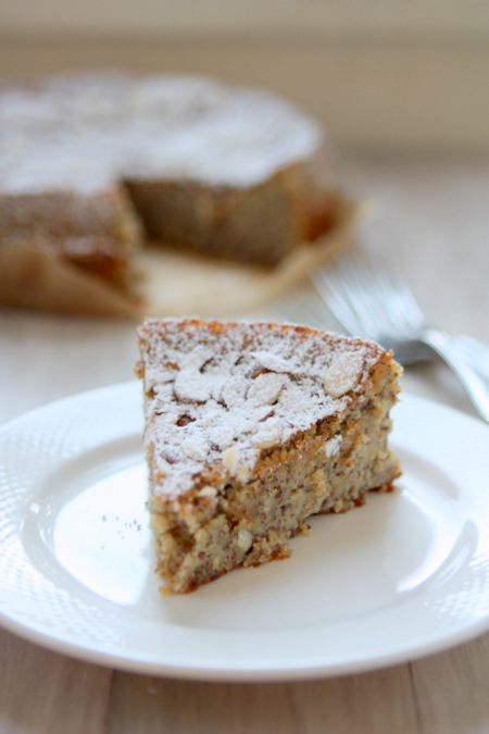 Lemon Almond Meal Cake