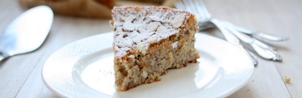 Lemon, Ricotta, Almond Meal Cake (Gluten-free)