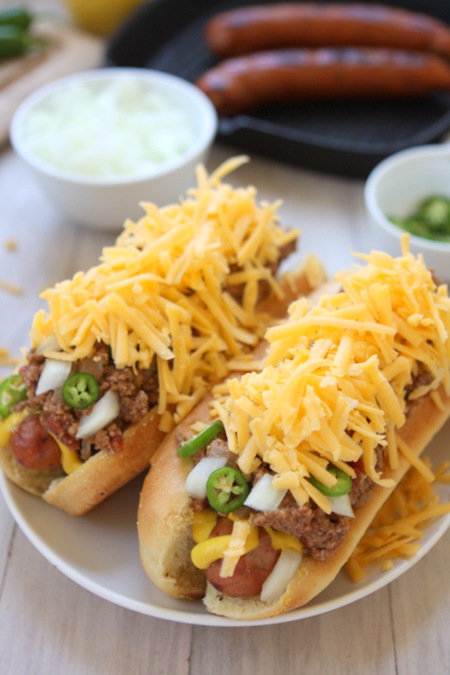 Ultimate Chili Dogs
