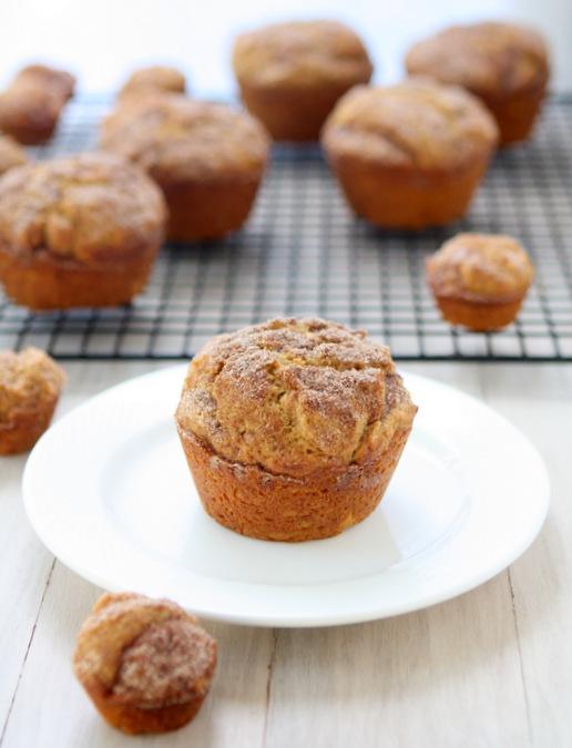 Cinnamon-Sugar Pumpkin Muffins