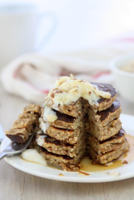 Banana Almond Meal Pancakes (Gluten Free)