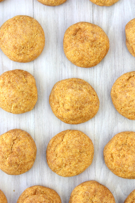 Brown Butter Pumpkin Snickerdoodles