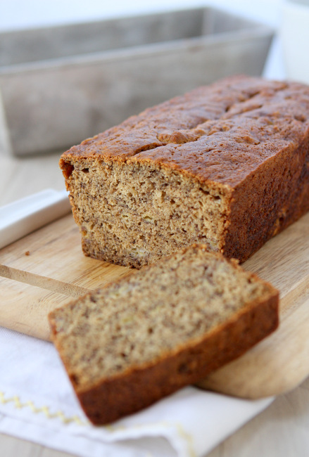 Bourbon Cardamom Banana Bread - The Kitchen Paper