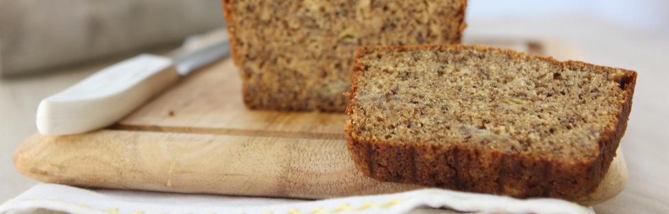 Bourbon Cardamom Banana Bread
