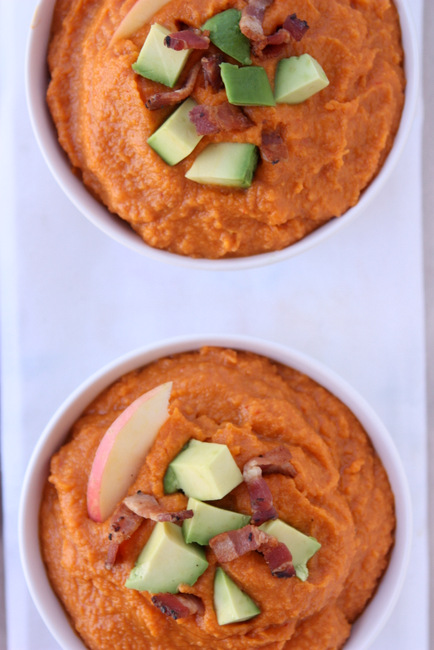 Smoky Apple Sweet Potato Soup
