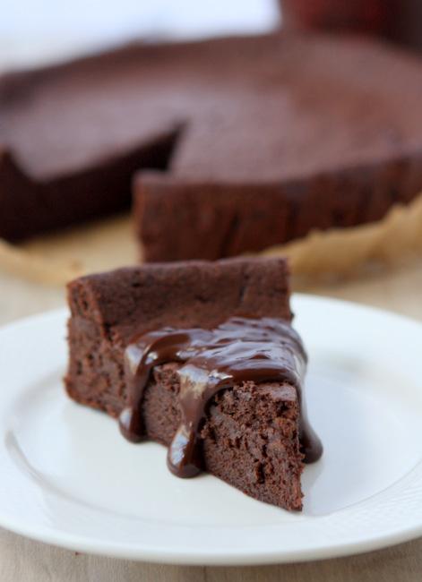Flourless Chocolate Cardamom Torte