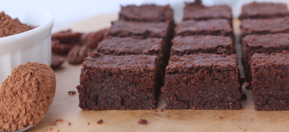 Pecan Brown Butter Brownies {Gluten Free}