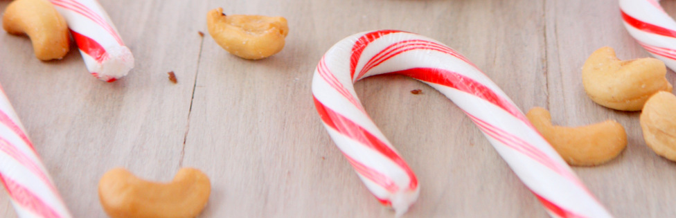 White Chocolate Candy Cane Cashew Butter