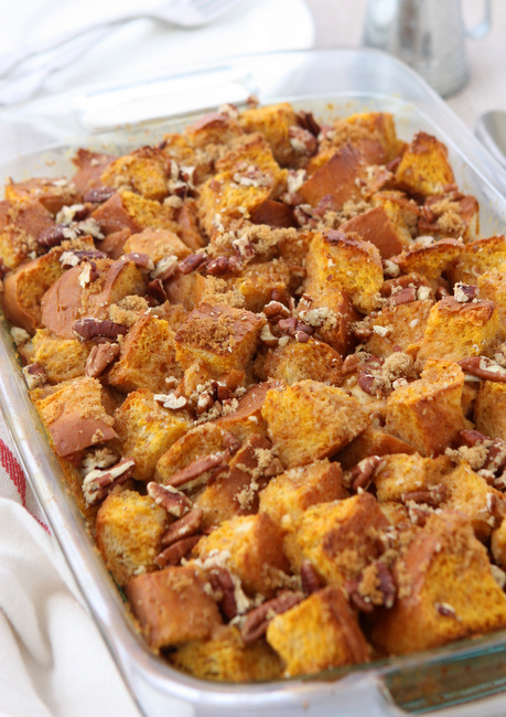 Baked Pumpkin French Toast | thekitchenpaper.com