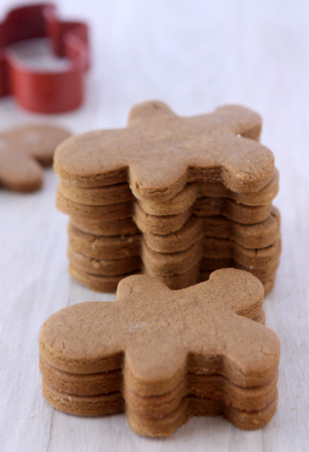 Gingerbread Cookies That Won't Spread