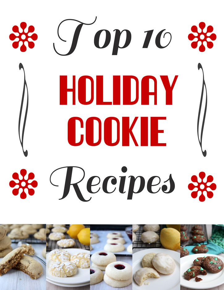 Top 10 Holiday Cookie Recipes | thekitchenpaper.com