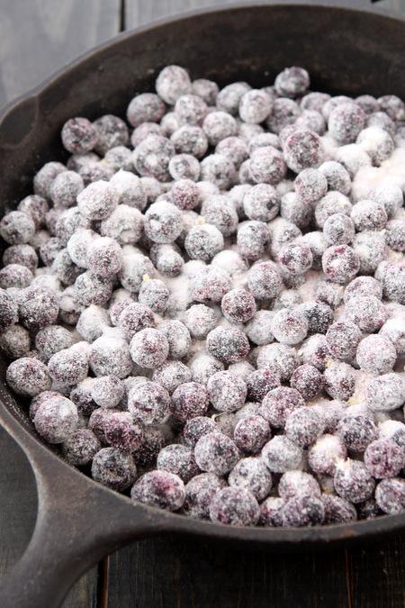 Skillet Blueberry Crisp | thekitchenpaper.com