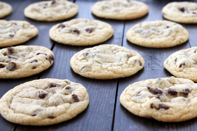 Classic Soft Chocolate Chip Cookies