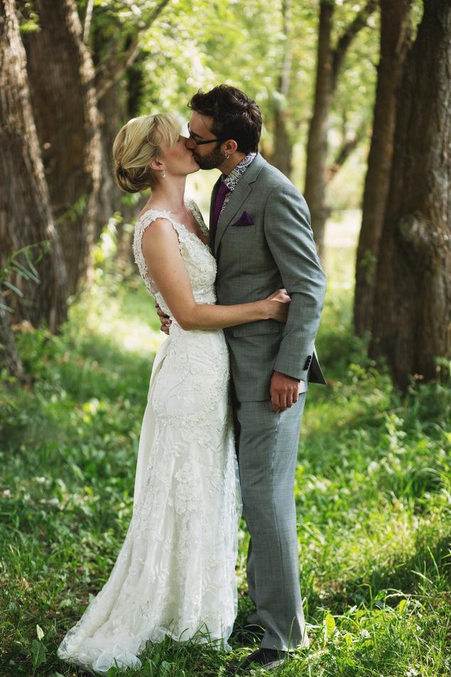 Derek & Mary's Montana Wedding | thekitchenpaper.com