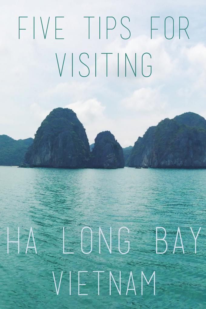 Five Tips for Visiting Ha Long Bay | thekitchenpaper.com