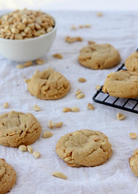 Peanut Peanut Butter Cookies | thekitchenpaper.com