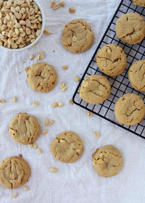 Peanut Peanut Butter Cookies | thekitchenpaper.comPeanut Peanut Butter Cookies | thekitchenpaper.com