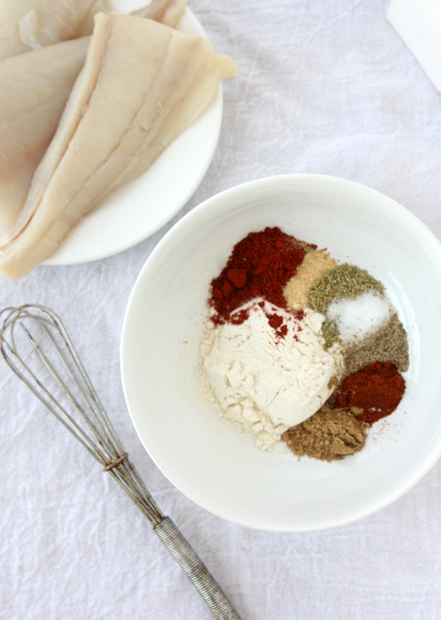 Spiced Halibut | thekitchenpaper.com