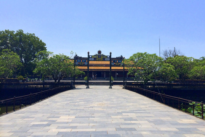 Inside the Citadel in Hue | thekitchenpaper.com