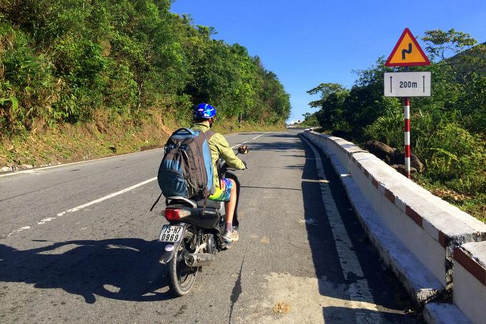 Motorbike Hai Van Pass in Vietnam! | thekitchenpaper.com