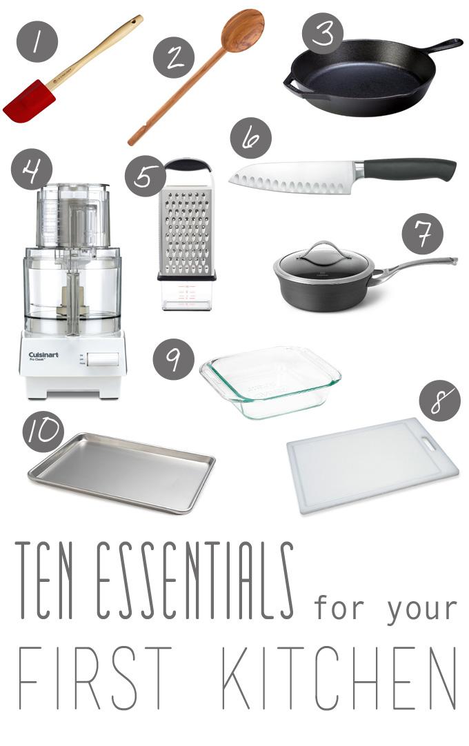 Ten Essentials for Your First Kitchen   thekitchenpaper.com